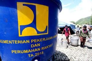 Kementerian PUPR Sediakan Air Bersih Untuk Warga Yang Terdampak Banjir di Gorontalo