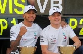 F1: Dua Pebalap Mercedes Kuasai Sesi Latihan Bebas…