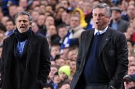 Mourinho Langgar Jaga Jarak Sosial Saat Ancelotti…