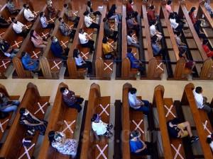 Keuskupan Denpasar Kembali Membuka Aktivitas Peribadatan di Gereja
