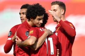 Hasil Liga Inggris : Liverpool Benamkan Villa di Zona…