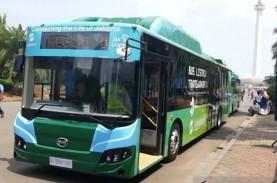 Hari Ini, Transjakarta Uji Coba Bus Listrik Rute Balai…