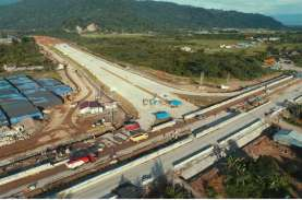 Berlanjut! Konstruksi Tol Pekanbaru-Bangkinang Capai…