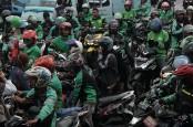 Ratusan Driver Gojek Unjuk Rasa di Padang, Ini Tuntutannya