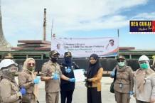 Bea Cukai Makassar Fasilitasi Ekspor Ribuan Ton Komoditas Pertanian