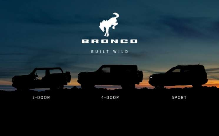 Ford Bronco.  - FORD