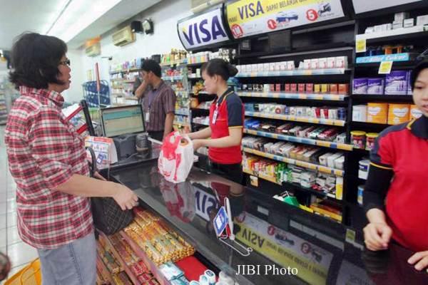 Gerai  Alfamart - JIBI/Endang Muchtar