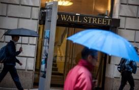 Dolar Terkulai, Bursa AS Naik Tajam Bersama Saham Global