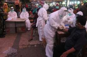 Pasar di Surabaya Dirazia, 20 Persen Warga tak Bermasker