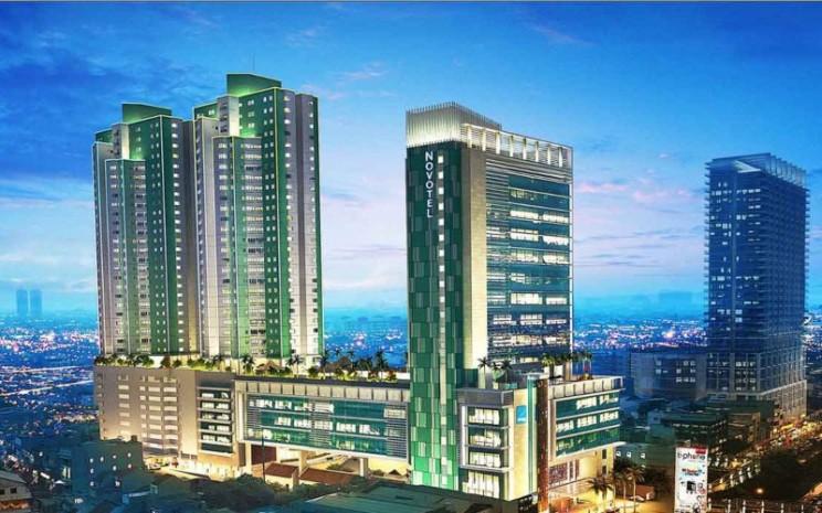 Green Central City Gadjah Mada, Jakarta, salah satu proyek superblok yang dibangun oleh Modernland Realty.  - moderland.co.id