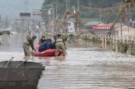 Korban Tewas Akibat Banjir di Jepang Diperkirakan…