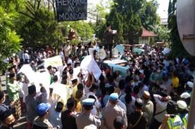 Protes Pernyataan Politisi Nasdem, Santri di Cirebon…