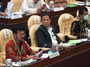 Mentan Syahrul Yasin Limpo Bahas Percepatan Pemulihan Ekonomi saat Raker Bersama DPR