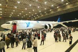 Garuda Indonesia: Rute ke Bali Cuma 20 Penumpang,…