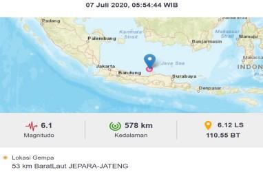 BMKG : Rentetan Gempa 7 Juli Patut Diwaspadai!