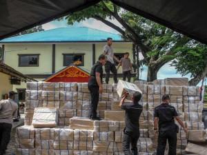 Polisi Berhasil Gagalkan Penyelundupan Rokok Ilegal Senilai Rp4 miliar di Riau