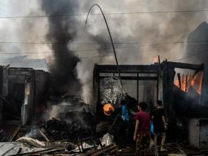Kebakaran di Manggarai Hanguskan 40 Toko