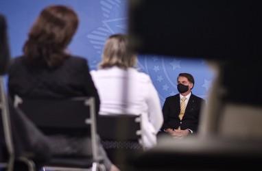 Positif Covid-19, Ini Gejala yang Dialami Presiden Brasil