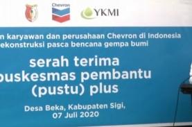 Chevron Serahterimakan Pustu Plus Pertama di Sulteng