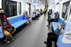 Wabah Corona Bikin Penumpang MRT Berkurang 4.000 Orang…
