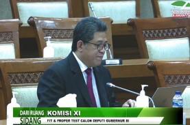 Komisi XI Tetapkan Nama Deputi Gubernur BI Baru Sore…