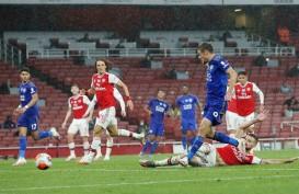 Jamie Vardy & Aubameyang Makin Ketat Berebut Top Skor Liga Inggris