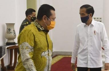 Bertemu Jokowi, Pimpinan MPR Bahas RUU HIP