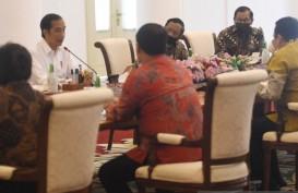 Bertemu Pimpinan MPR, Jokowi Paparkan Kebijakan Pemulihan Ekonomi