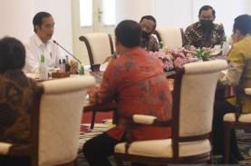 Bertemu Pimpinan MPR, Jokowi Paparkan Kebijakan Pemulihan…