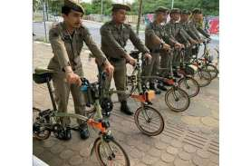 Viral Satpol PP Makassar Bertugas Pakai Sepeda Brompton…