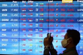 Investor Asing Borong BBRI dan BBCA, IHSG Ditutup…