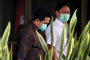 Menteri BUMN Erick Thohir Datangi KPK Tekait Pemulihan Ekonomi Nasional
