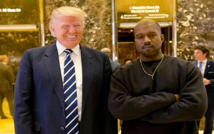 Trump dan Kanye West