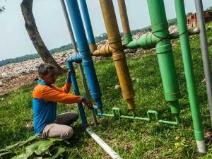 Warga Mengubah Sampah Organik Jadi Biogas Untuk Pengganti Gas Elpiji