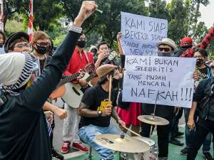 Dilarang Tampil saat PSBB Transisi, Musisi Cafe Tuntut Anies Baswedan