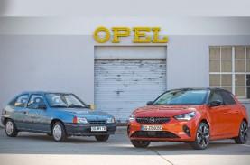 Opel Corsa-e : Selamat Ulang Tahun ke-30 Kadett Impuls…