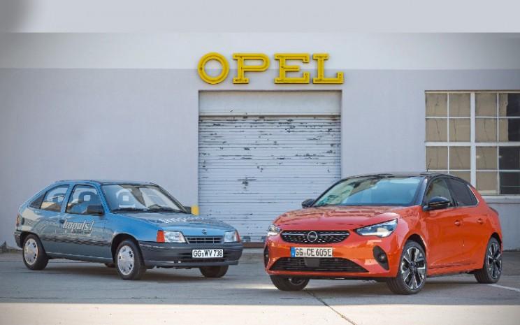 Opel Cadett Impuls I, dan Opel Corsa e. - OPEL
