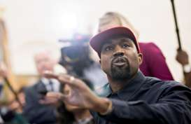 Pilpres AS 2020: Dulu Mendukung, Kini Kanye West Tantang Donald Trump