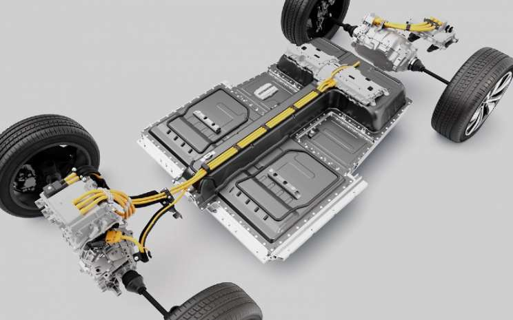 Volvo XC40 Recharge Battery Package.  - Volvo Car