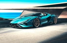 Debut, Lamborghini Sian Roadster Berteknologi Hibrida Unik
