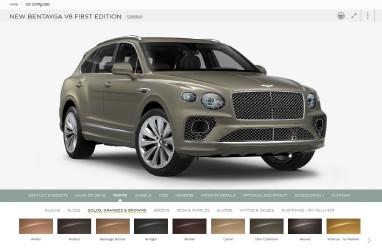 Mau Desain Mobil Sendiri? Bentley Sediakan Konfigurator Cerdas