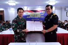 Sinergi Bea Cukai dan TNI ALPerkuat Penegakkan Hukum di Laut