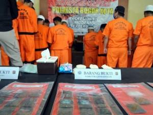 Satnarkoba Polresta Bogor Kota Ungkap Kasus Narkoba di Tengah Panemi Covid-19