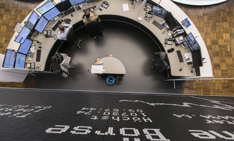 Bursa Efek Frankfurt, Jerman. - Bloomberg