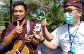 50 Lapak Kuliner Taman Kota Singaraja Adopsi Pembayaran QRIS