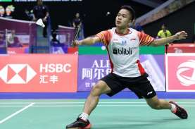 Hasil PBSI Home Tournament: Anthony Ginting Maju ke…