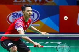 Hasil PBSI Home Tournament: Jonatan ke Semifinal Lawan…