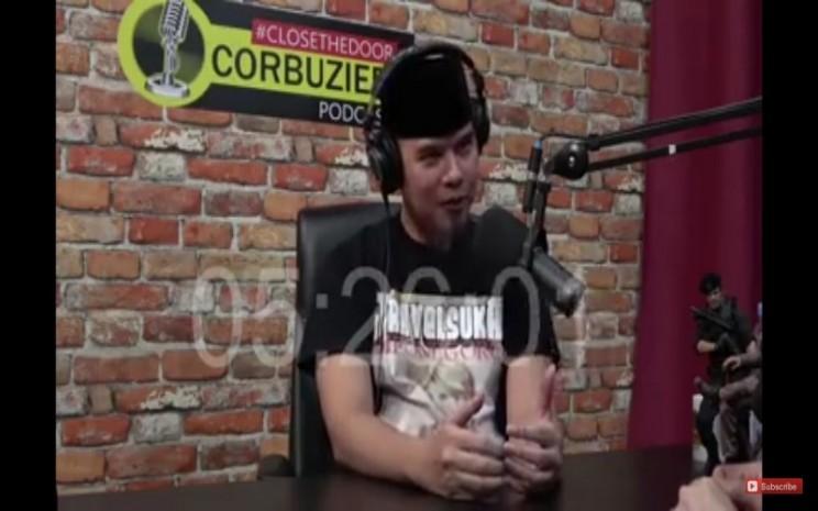 Ahmad Dhani dalam podcast Deddy Corbuzier