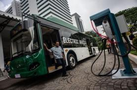 Anies Targetkan Transjakarta Operasikan 100 Bus Listrik…