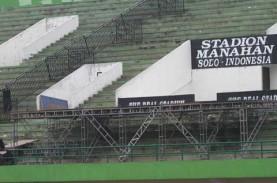 Kompleks Stadion Manahan Dibuka Kembali untuk Umum
